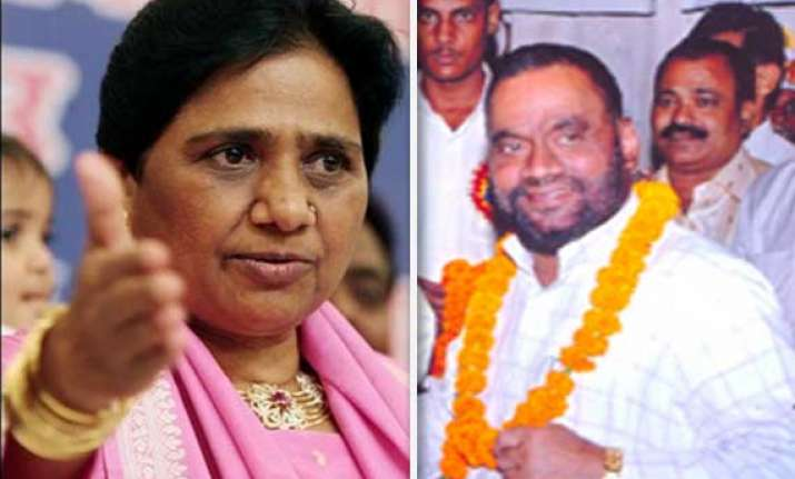 bsp says rahul s visit to bhatta parsaul is a mere drama