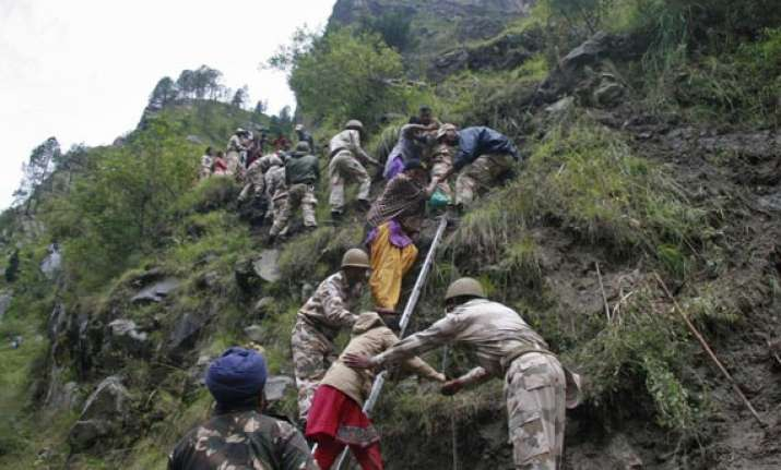 bad weather halts rescue ops from badrinath
