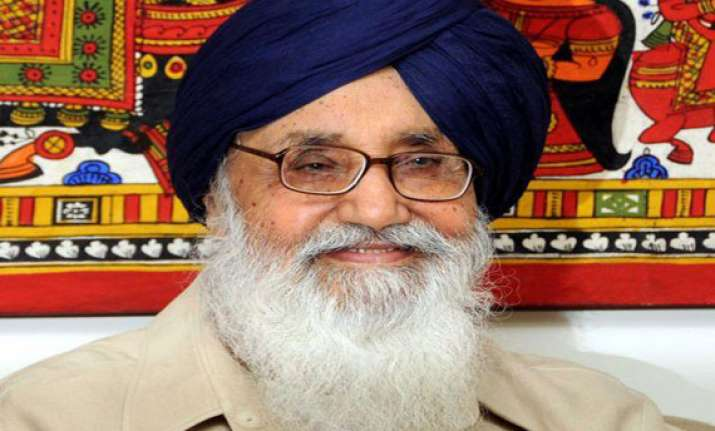 badal to meet narendra modi with development plan for punjab