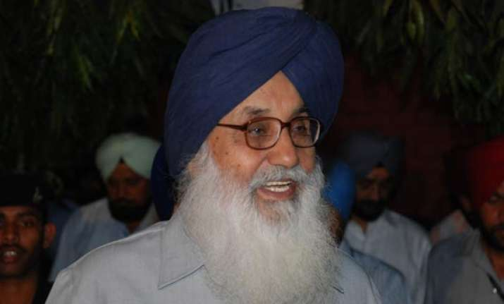 badal urges pm to secure release of crew of indian vessel