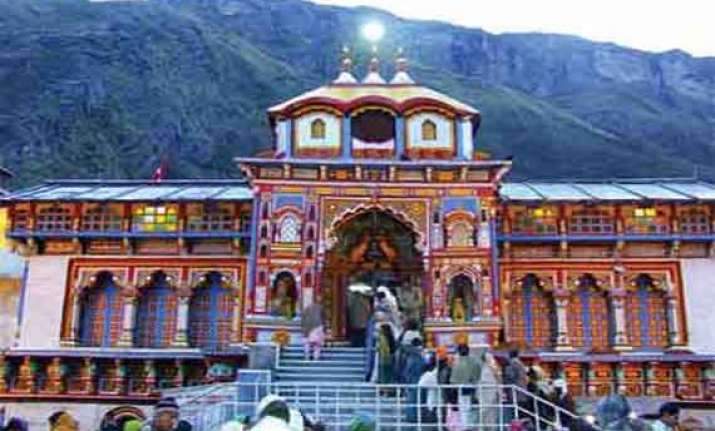 badrinath temple to reopen on may 5