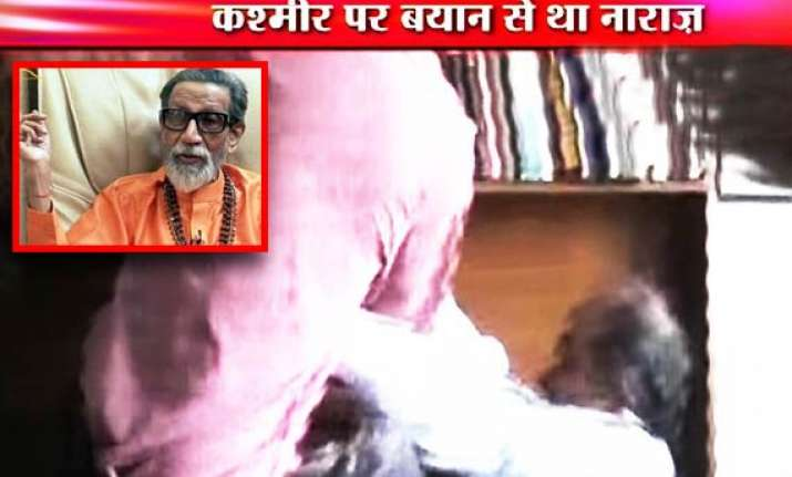 bal thackeray says prashant bhushan paid price for his