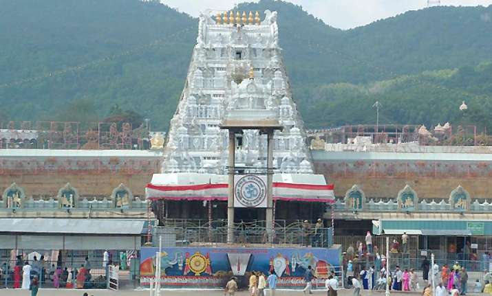 balaji temple in tirupati nets rs 1 700 crore income in 2011