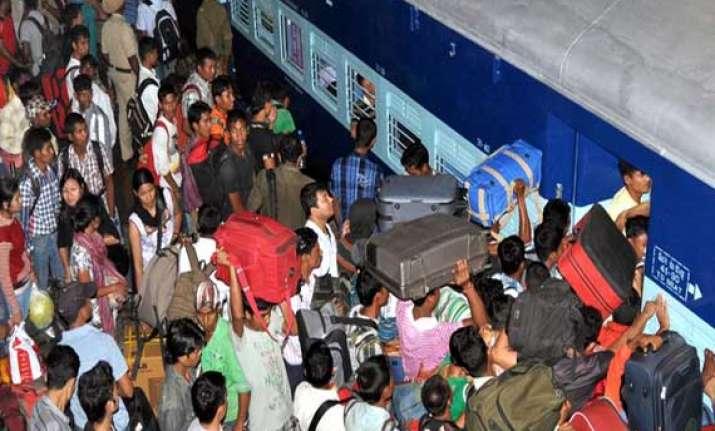 bangalore guwahati express resumes onward journey