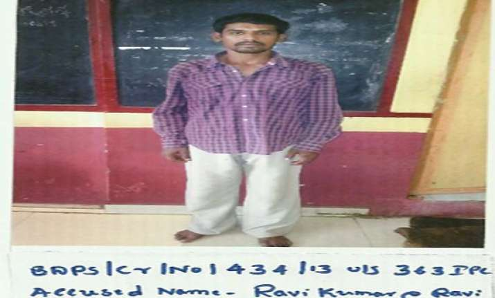 bangalore police nabs serial kidnapper of minor girls