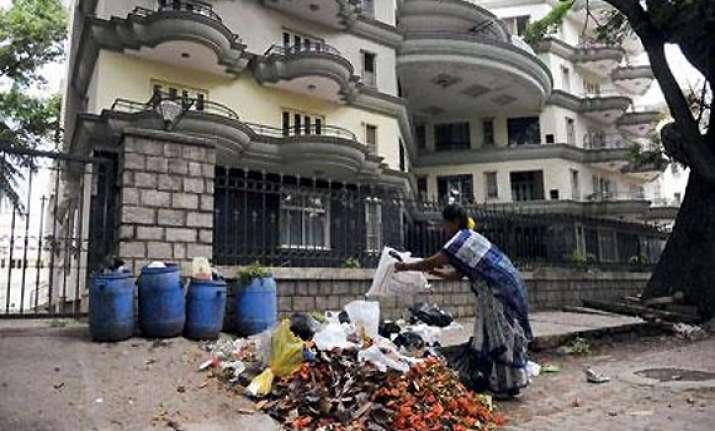 bangalore s baby steps at waste segregation