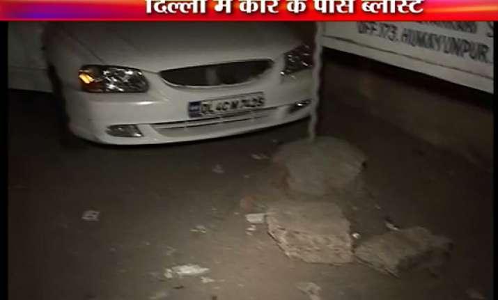 battery blast creates scare in posh locality of south delhi