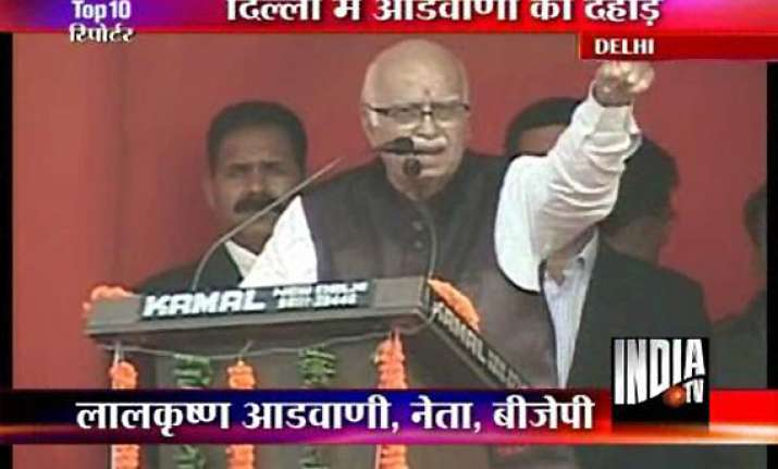 battle against corruption to continue advani