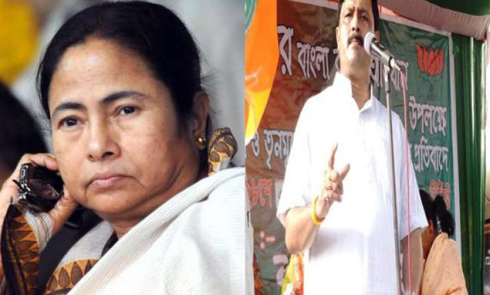 better for mamata to attend modi s swearing in bjp