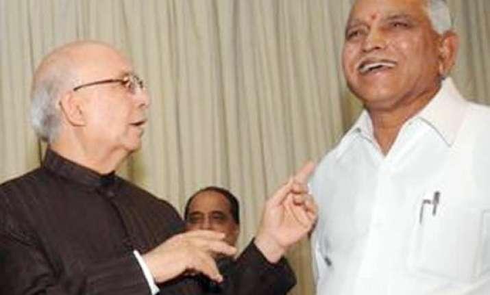 bhardwaj changes track says yeddy has massive majority