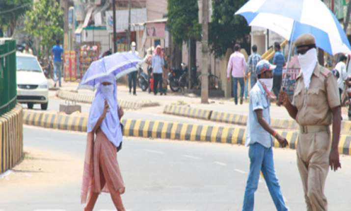 bhubaneswar continues to remain odisha s hottest