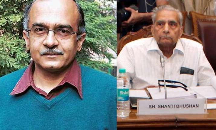 shanti bhushan says corrupt politicians are feeling jittery