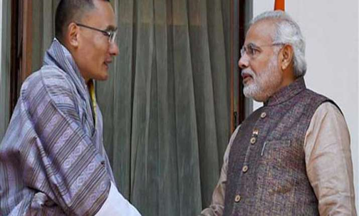 bhutan remains a priority for india modi
