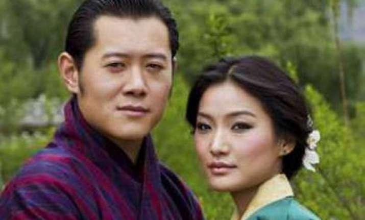 bhutan s first couple visit lake city
