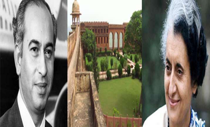 bhutto wanted share of jaigarh fort treasure from indira