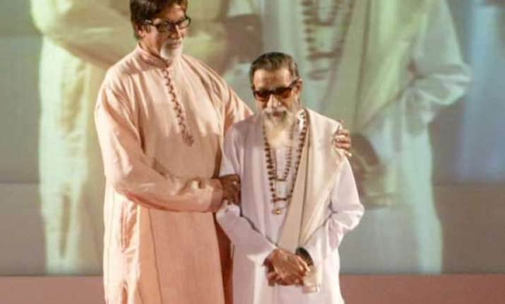 big b offers his poet father s verses on thackeray s demise