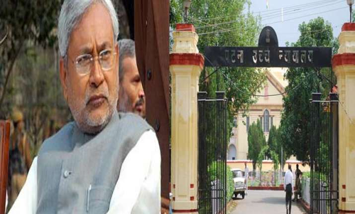 bihar cabinet approves dismissal of three judges