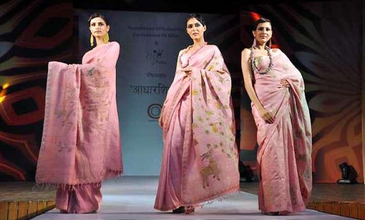 bihar handloom fashion fiesta in delhi