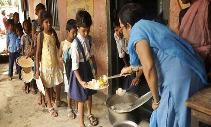 bihar mid day meal teacher in bihar jailed for carrying