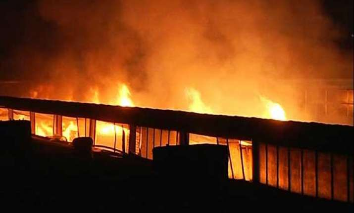 biscuit factory in mumbai gutted in fire rs 50 lakhs worth