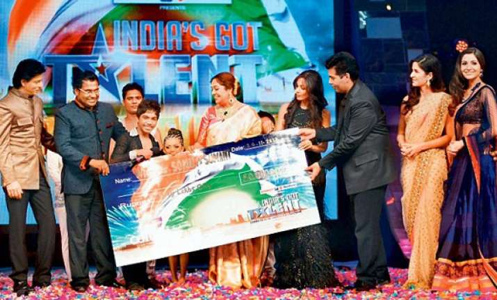 bivash academy salsa dancing kids win india s got talent