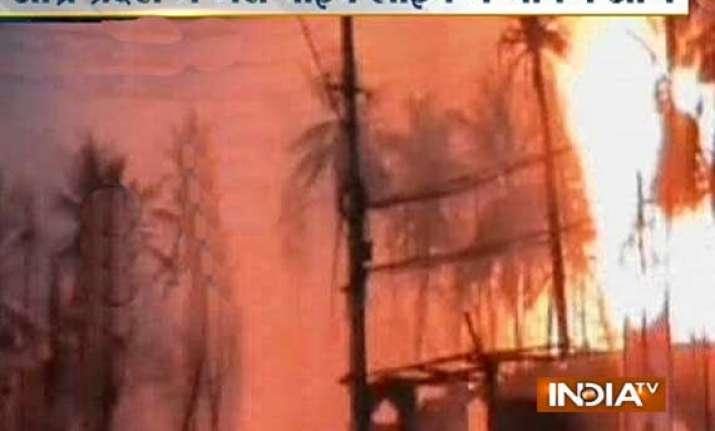 blast at gail site in andhra pradesh 14 dead