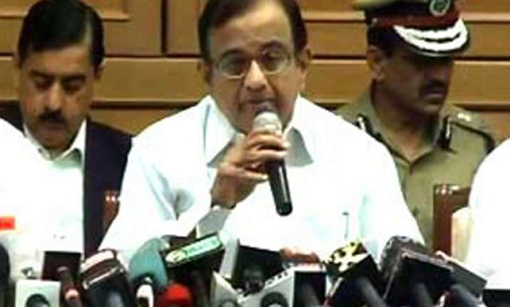 blasts took place after a gap of 31 months says chidambaram