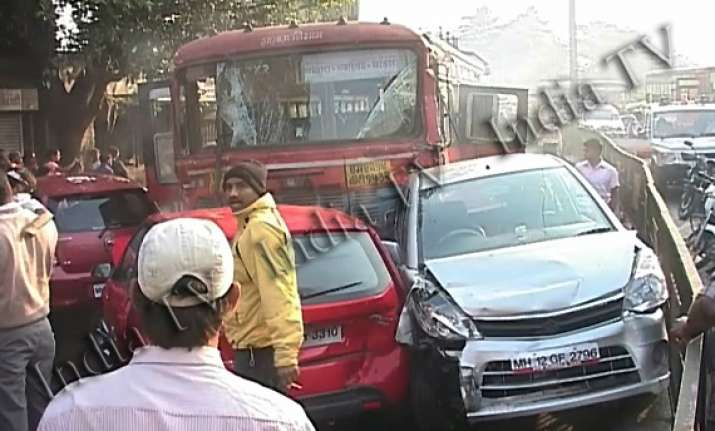 blow by blow account of how pune bus driver went on the