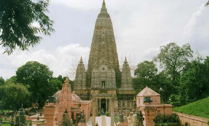 bodh gaya temple dome to be inlaid with gold
