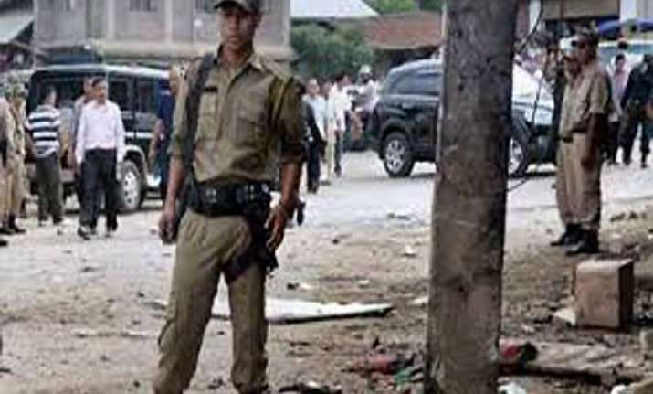 bomb explodes near police station in manipur