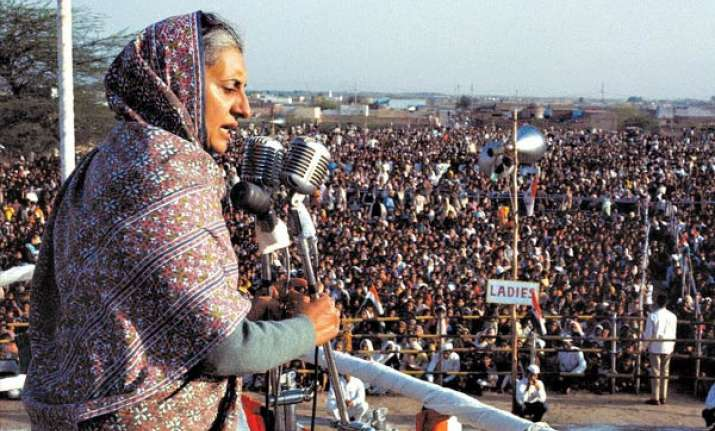 book blames indira for damage to cong s electoral base in up