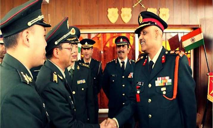 border personnel meeting between india china