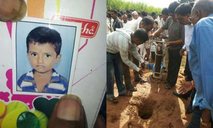 boy falls into 300 ft deep borewell rescue efforts on