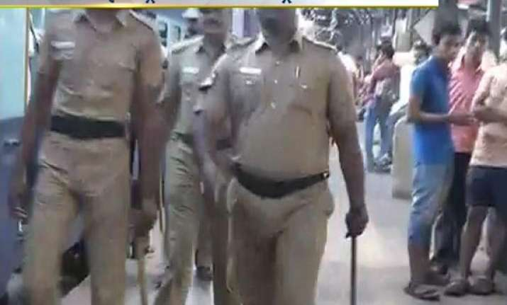 in pics twin blasts inside a train at chennai railway