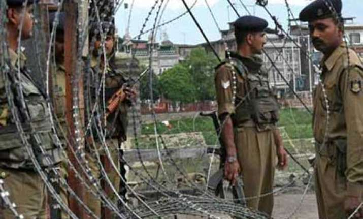 militants in fatigues attack army camp in kashmir shot dead