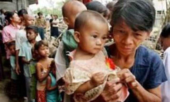 100 bru families return to mizoram from tripura
