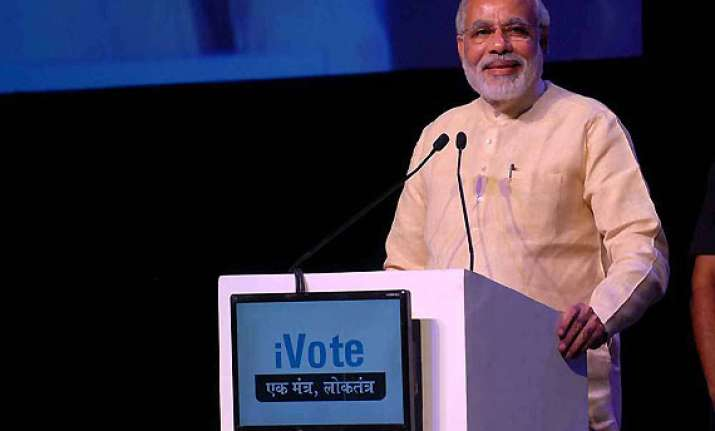 build toilets first temples later says narendra modi