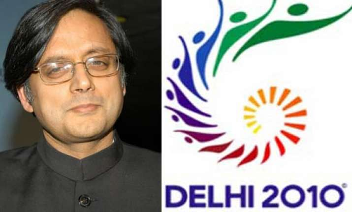 cag shashi tharoor got 30k in dubai account for cwg services