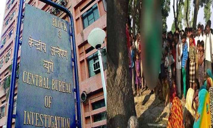 badaun rape cbi registers case of gangrape and murder