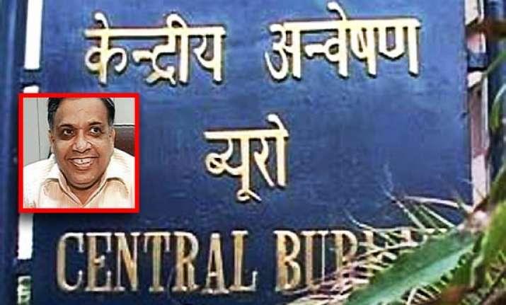 cbi announces rs 10 lakh reward for absconding adg arvind