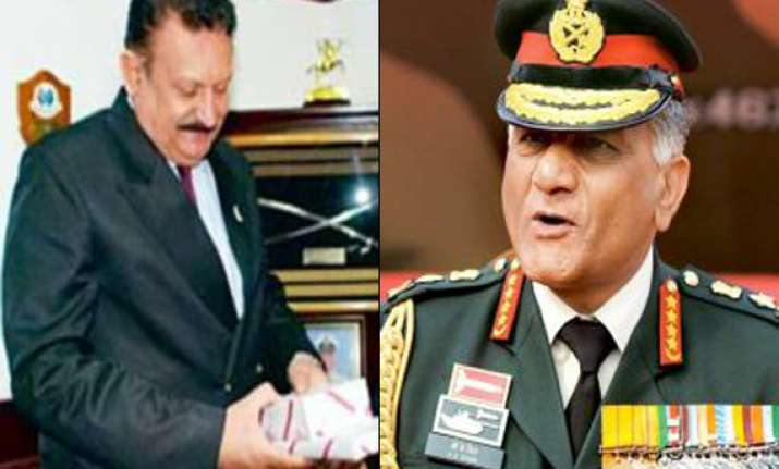cbi seeks complaint from general receives audio tapes