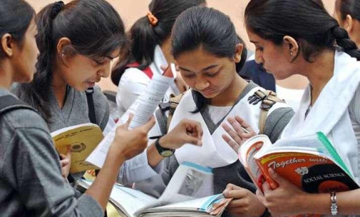 cbse class x results announced for delhi chennai regions