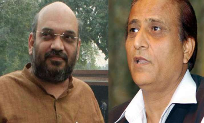cds of azam khan amit shah hate speeches being examined