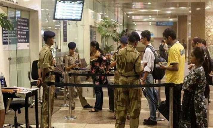 cisf enhances security at all airports after chennai blasts