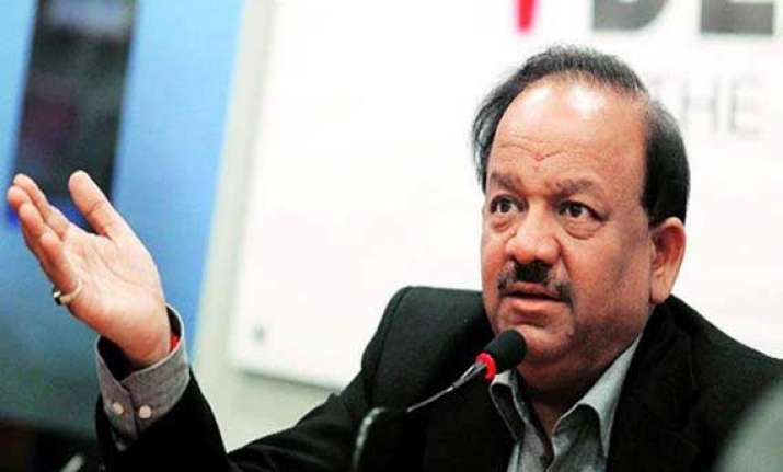 cvc rejected chaturvedi s name twice harsh vardhan