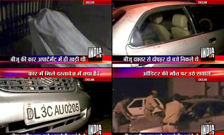 cwg auditor s s viju found dead inside car in delhi