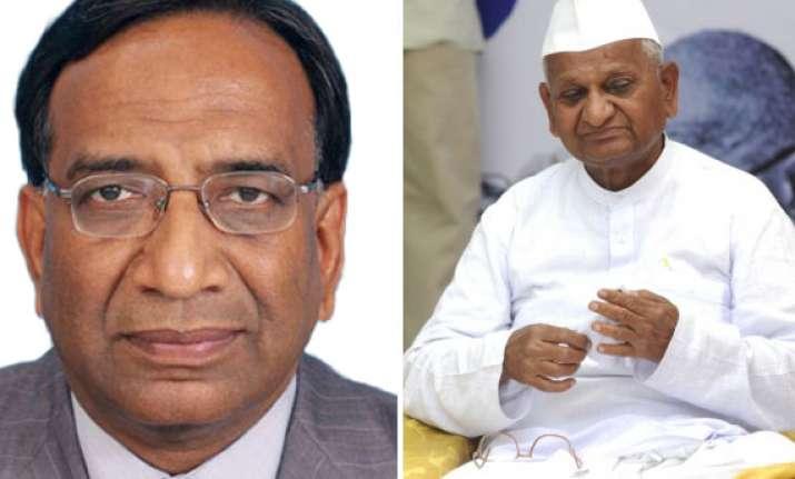 central vigilance commissioner supports anna movement