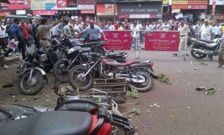 centre refuses to term pune blast as terror act