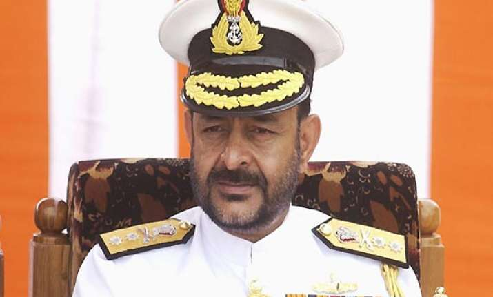 centre treats former navy chief joshi s resignation as