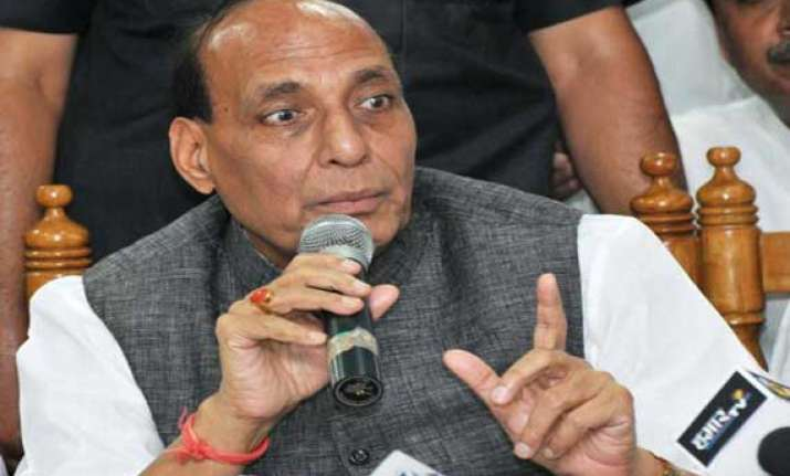 centre waiting for ats report on pune blast rajnath singh